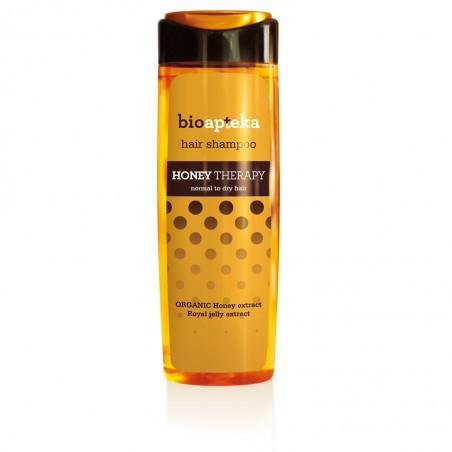 Bioapteka Shampoo con Miel y Jalea Real, 250 ml