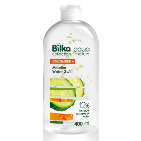 Bilka Aqua Natura Agua Micelar 3 en 1 con Pepino y Melón 400 ml