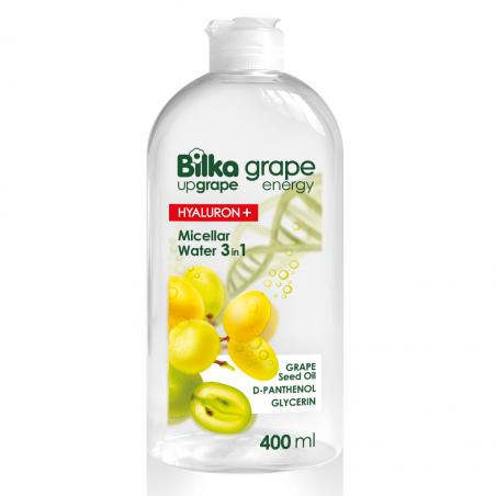 Bilka Grape Energy Agua Micelar 3 en 1 400 ml