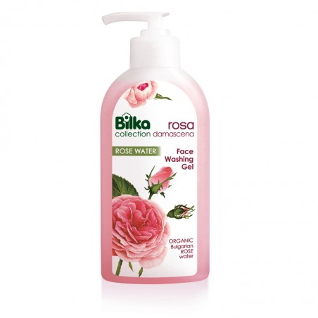 Bilka Jabón Facial en Gel con Rosa Damascena 200 ml