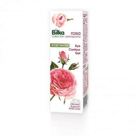 Bilka Gel para Contorno de Ojos con Rosa Damascena 25 ml
