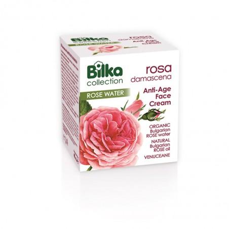 Bilka Crema Facial con Rosa Damascena 40 ml